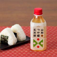 SUN&LIV(サン&リブ)山形食品株式会社 山形つや姫玄米茶:山形県産米つや姫使用玄米茶