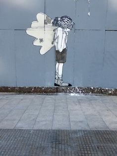 by French Street Artists Ella & Pitr (aka Papiers Peintres).