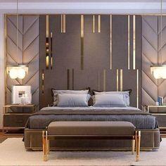 Trendy contemporary bedroom interior luxury homes ideas Contemporary Bedroom, Modern Bedroom, Bedroom Decor, Bedroom Ideas, Bedroom Lighting, Bedroom Lamps, Bedroom Colors, Bedroom Furniture, Bedroom Black