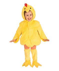 Love this Yellow Chicken Dress-Up Set - Toddler & Kids by Forum Novelties on #zulily! #zulilyfinds