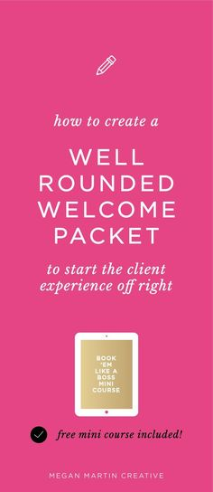 Ready to elevate your client experience from day one? Designing a well rounded Welcome Packet for your service based business is the key to a successf Business Branding, Business Design, Business Marketing, Creative Business, Business Tips, Online Business, Doula Business, Cleaning Business, Business Goals