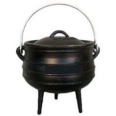 2.25 gallon tripod cooking pot