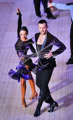 Pavel Zvychaynyy & Veronika Vasilova | Blackpool Dance Festival 2013, 9th place Pro RS | More photos: http://dancesportinfo.net/Couple/Pavel_Zvychaynyy_and_Veronika_Vasilova_215283/Competition/Blackpool_Dance_Festival_2013_20341/Professional_Rising_Star_Latin_260548/Photos