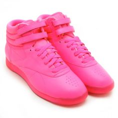 Reebok   Freestyle Hi Crackle Patent Leather High Top Sneaker   Nordstrom Rack