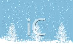 iCLIPART - Royalty Free Clipart Image of a Snowy Winter Scene