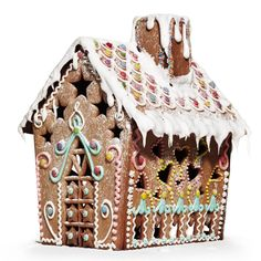 Love the door Panduro Hobby, Cookie House, Christmas Cookies, Reindeer, Advent, Christmas Decorations, Gingerbread Houses, Crafts, Template