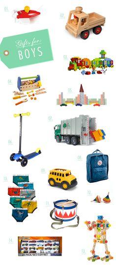 Gift guide for little boys | 100 Layer Cakelet