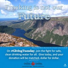 Gros Morne, Giving Tuesday, Future Photos, Drinking Water, Fresh Water, Gift, Gifts