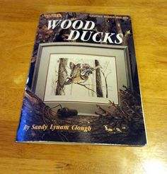 Leisure Arts Leaflet #2062 Wood Ducks Sandy Lynam Clough Cross Stitch Pattern