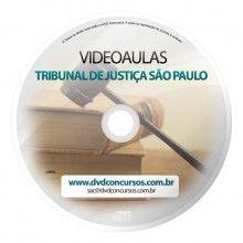VIDEOAULAS TRIBUNAL DE JUSTIÇA SÃO PAULO 2014 3 DVDS