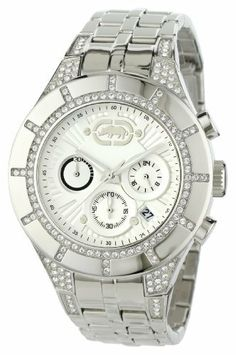 Marc Ecko Men's E20068G1 The Arena Stainless-Steel Bracelet Watch Marc Ecko. Save 20 Off!. $160.00. Water-resistant to 165 feet (50 M). Stainless steel case. Silver dial. Quartz movement. Stainless steel bracelet