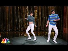 Jennifer Lopez and Jimmy Fallon Battle for Tight Pants Crown