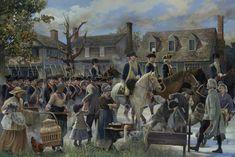 AWI Americans: Williamsburg To Yorktown, by Pamela Patrick White. American Revolutionary War, American War, American Soldiers, American History, Early American, Military Art, Military History, Military Uniforms, Siege Of Yorktown