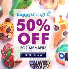 Haz tus propias máscaras de animales - ¡Ponte salvaje! - 50% de descuento para miembros Diy Crafts For Kids, Projects For Kids, Fun Crafts, Art For Kids, Paper Crafts, Craft Ideas, Art Projects, Easy Dress, Printable Animal Masks