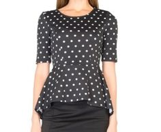 Monochrome Makes it's Debut in the Woolworths Winter Collection Winter Collection, Polka Dot Top, Monochrome, Online Shopping, How To Make, Tops, Women, Fashion, Moda