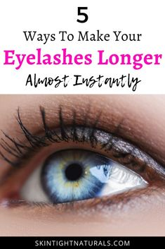 How To Make Your Eyelashes Look Longer Almost Instantly - 5 Wow-Appeal Alternatives To Wearing Mascara. Try these fast and easy mascara dupes. Mascara, Eyeliner, Pretty Makeup, Simple Makeup, Natural Makeup, Natural Beauty, Get Long Eyelashes, Longer Eyelashes, Dupes