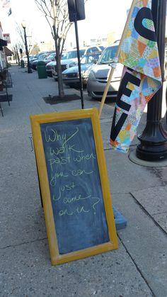 73 best chalkboard quotes images in 2019 chalk board, black Shop Window Displays, Store Displays, Design Café, Sign Design, Sidewalk Signs, Retail Signs, Kiwi, Shop Front Design, Coffee Design