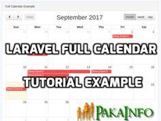Laravel Fullcalendar Integration Tutorial Example From Scratch