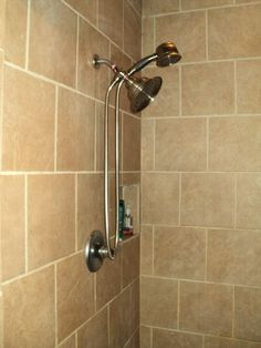 BEAUTIFUL CRAFTSMANSHIP in the SEPARATE STANDING TILE SHOWER!