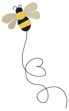 Bumble Bee and Christmas Bee 4x4 and 5x7 options for each