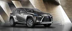 Lexus apresenta novo carro-conceito LF-NX no Salão do Automóvel de Frankfurt 2013