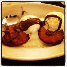E per finire #dessert #frittelle #gelato e #nutella #loveit #pic #picoftheday #photo #photooftheday #instafood #instagood #instagram #food #foodporno #joy