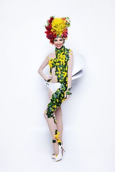Miss Universe Australia Monika Radulovic will channel her inner drag queen in a Dame Edna inspired national costume at Donald Trump's International Miss Universe Final Dame Edna, Flower Costume, Australian Flowers, Olympic Team, Miss World, Pageant, Princess Zelda, Wonder Woman, The Incredibles