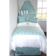 Custom designer bedding and bedroom decor by Decor 2 Ur Door. Design your own or select one of our designer bedding collections. Dorm bedding, custom baby bedding, teen girl bedding, apartment bedding, and more. Dorm Bedding Sets, Girls Bedding Sets, Teen Bedding, Girls Bedroom, College Bedding, Bedroom Decor, Bedroom Black, Bedroom Sets, Comforter Sets