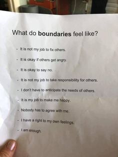 Setting Boundaries with adult children, healthy boundaries in relationships, friends, family, workplace is a must. Check Setting Boundaries quotes and FAQs. Quotes To Live By, Me Quotes, Motivational Quotes, Inspirational Quotes, Hand Quotes, Boundaries Quotes, Setting Boundaries, Life Advice, Mbti
