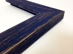 NAVY BLUE Rustic Reclaimed Distressed Barn Wood by WholesaleFrame