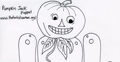 Fall Crafts For Kids, Kids Crafts, 2nd Grade Art, Pumpkin Jack, Deco, Halloween Crafts, Puppets, Projects To Try, Centre