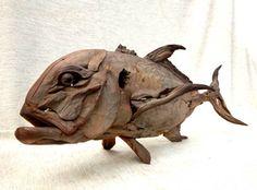 Tony Fredriksson GT driftwood sculpture.