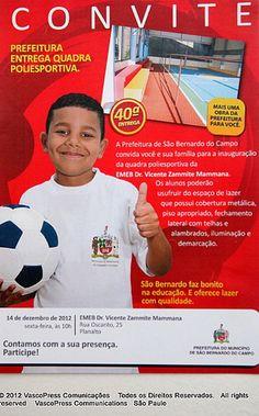 São Bernardo do Campo Entrega Quadra Poliesportiva aos Alunos da EMEB. Dr. Vicente Zammite Mammana -  IMG_9626