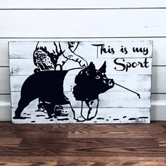 This is my sport (pig) Livestock quote on a wooden sign! Great gift for a livestock showing family that shows pigs. Show Steers, Show Goats, Pig Showing, Showing Livestock, Livestock Judging, Teacup Pigs, Show Cattle, Mini Pigs, Pig Pen