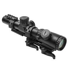 NcStar Vism Evolution Series Scope 1.1-4X24 Scope/P4 Sniper