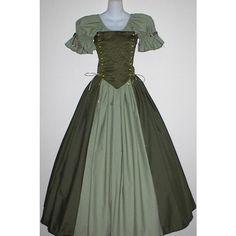 Irish Lady Ensemble - medieval renaissance wench clothing ($65) found on Polyvore