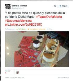 Los dulces que #TapasDoñaMarta aporta a #SaboreaValencina por @Estrellamantos4