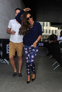 Rochelle Humes - The Saturdays at the BBC Radio Studios