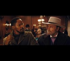"""""""D-J-A-N-G-O. The D is silent"""" (Django Unchained)"""
