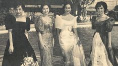 What has happened to our national dress, the Philippine terno? Though it remains an inherent part of our rich culture, it has certainly evolved. Philippines Fashion, Philippines Culture, Filipino Art, Filipino Culture, Ancient Tattoo, Filipino Wedding, Filipiniana Dress, Filipino Fashion, Filipina Beauty