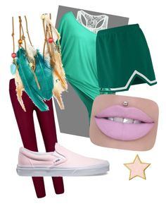 """Opal Su"" by stevenufashion on Polyvore featuring Boohoo, Stoney Clover Lane and Vans"