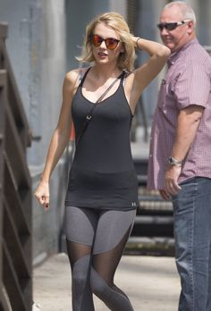 Taylor Swift headed to the gym in New York City