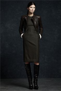 Photos and comments about the collection, the outfits and accessories presented by Belstaff Fall Winter 2012-13