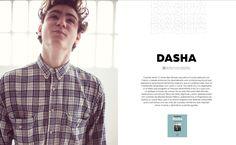 Literatura: DASHA #MinimalDesign #Minimal #RevistaMarvin #Marvin #ArtDirection #Magazine #EditorialDesign #Editorial #GraphicDesign #BienSadBienSexy #SoSadSoSexy #dasha
