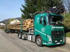 VOLVO FH timber transport