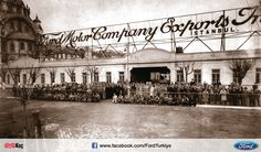 Ford Motor Company Tophane Montaj Fabrikası, İstanbul, 1929.