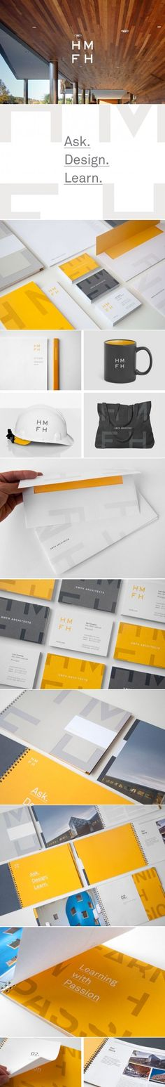 HMFH Architects | Branding, Business Collateral, Copywriting, Design, Marketing Materials, UX, Website Design | Design Ranch