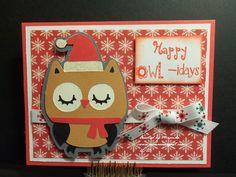 Nana's Scrap Spot Happy Owl, Cricut Creations, Love Cards, Cricut Ideas, I Card, Christmas Cards, Stamps, Scrap, My Love