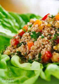 Spicy Kasha Vegetable Salad