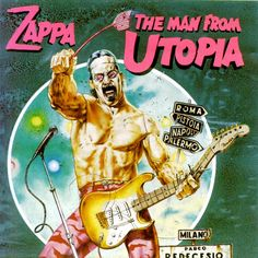The Man From Utopia  CD cover  by Tanino Liberatore